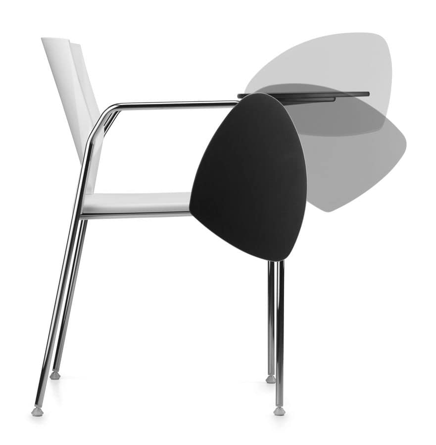 TREK 038 TDX, Conference chair with writing tablet