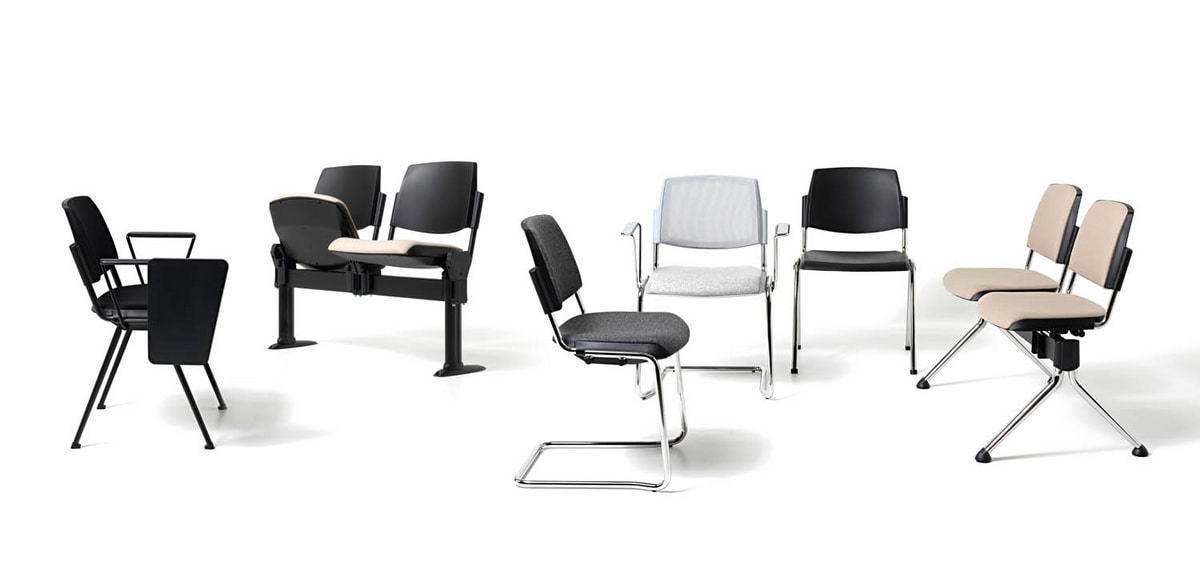 New Bonn, Chair with cantilever base