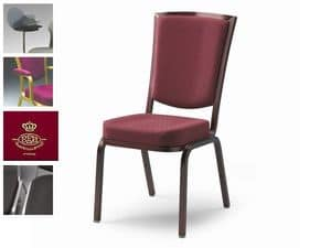 Como 65/2, Fireproof chair for conferences and meetings, customizable