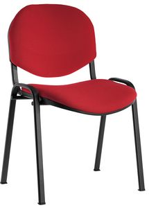 Conferenza padded, Comfortable stacking chair for auditorium