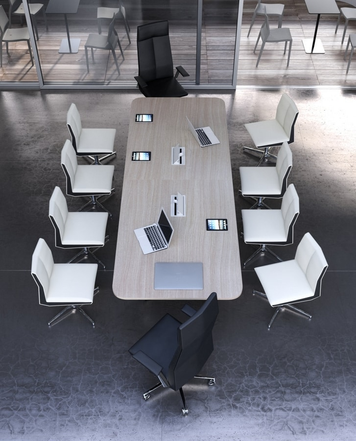 Impero B, Swivel chair for meeting room