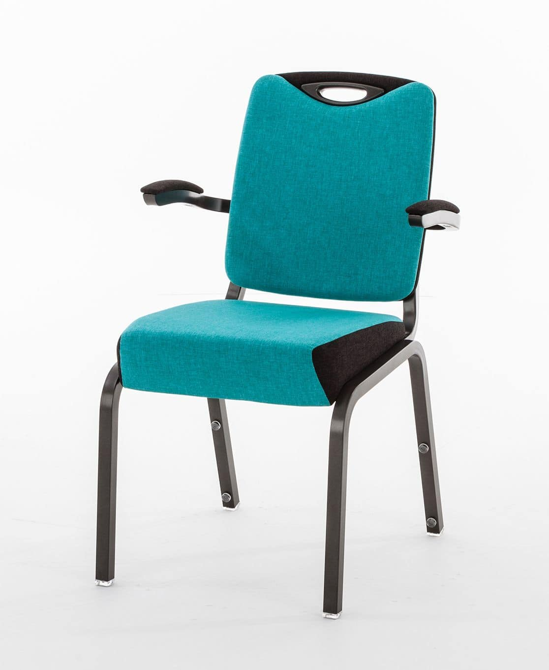 Inicio 09/4HA, Conference chair with armrests, with optional accessories
