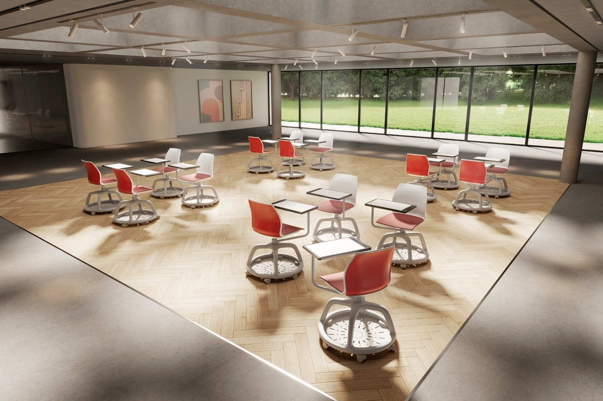 Kalea, Chair for training and conference classrooms