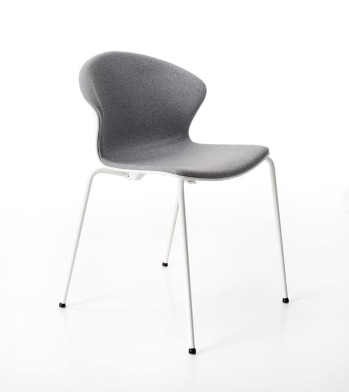 Red Hot 4 legs padded, Comfortable and elegant padded chair for conference