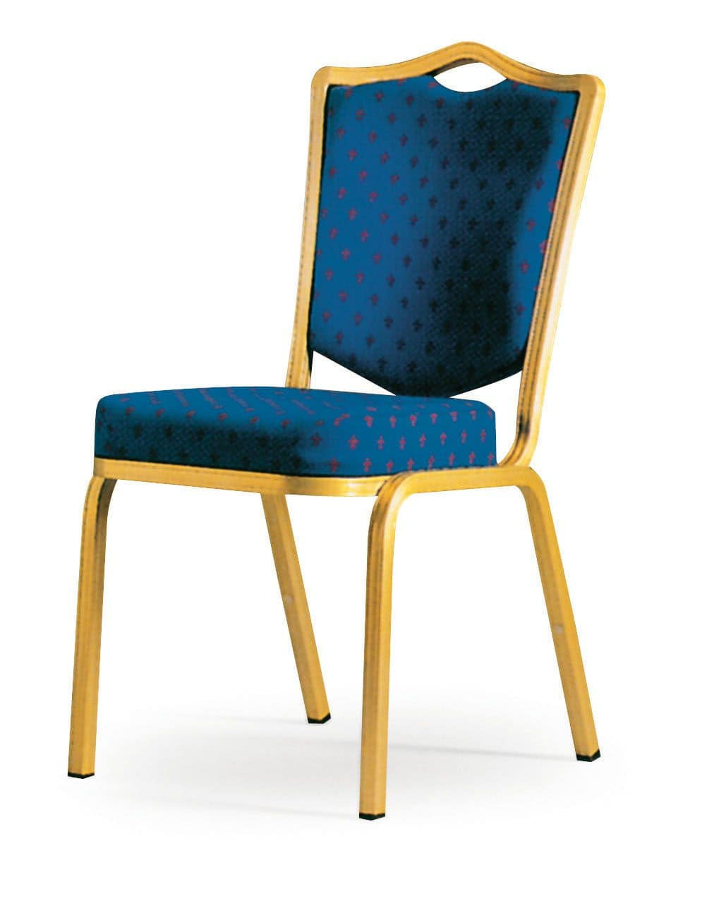 Siena-Allday 62/4E, Chair with fire retardant padding, light and stackable