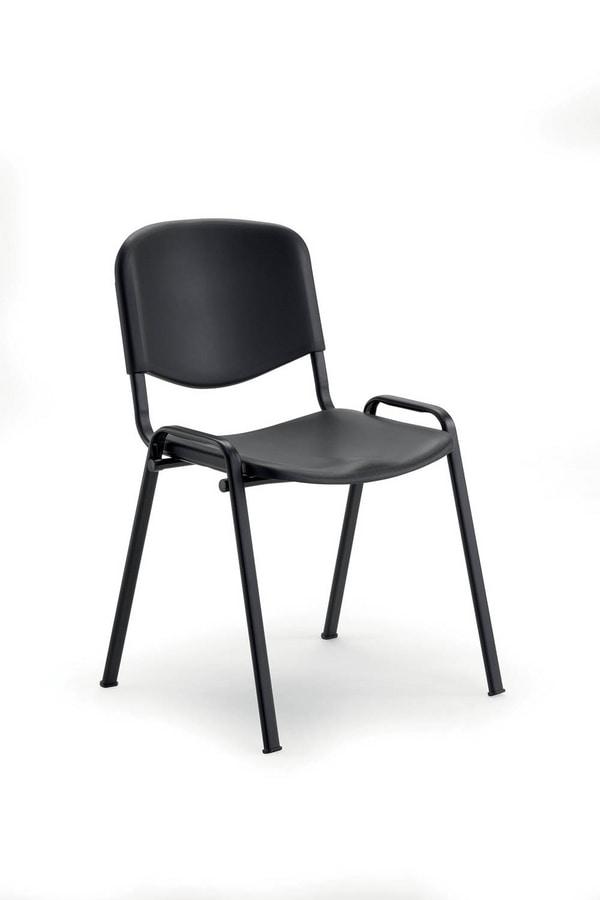 UF 103, Auditorium chair with polyporpylene seat