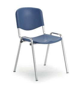 UF 103, Auditorium chair with polyporpylene seat