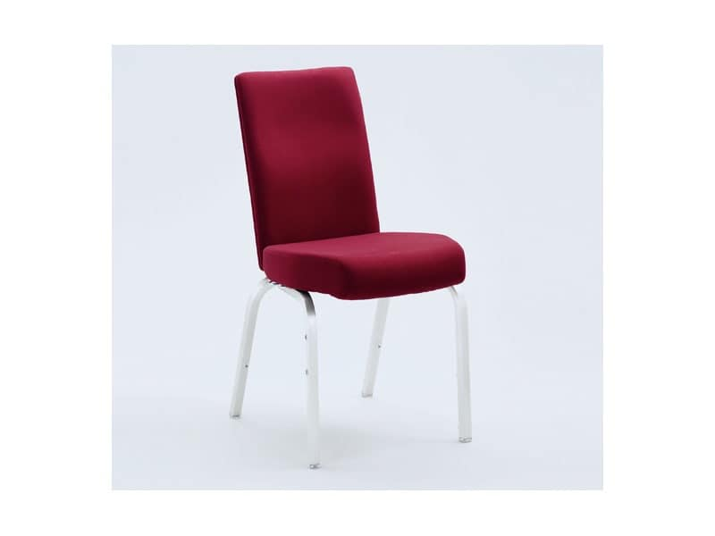 Vario-Allday 21/4, Upholstered chair with anatomic seat and flexible backrest