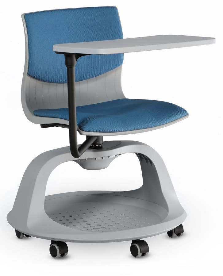 WEBBY 349/STO + OPT, Padded swivel seats for training rooms