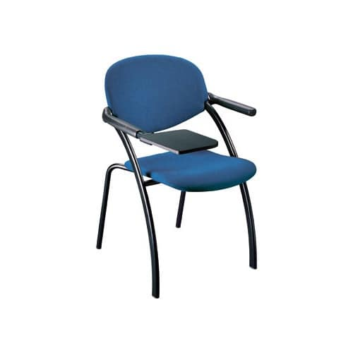 Aura, Padded chair for conference with writing tablet