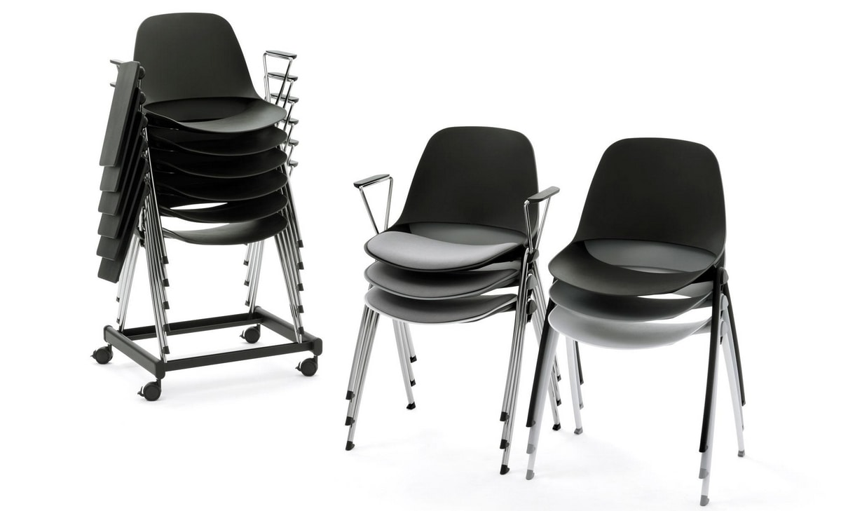 Meeting - V, Conference chairs characterized by curved lines