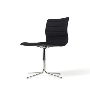 Miss, Swivel chair with steel base, various coatings