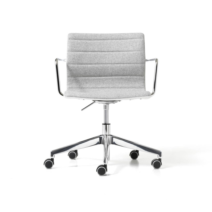 Miss gas, Task chair for office with armrests and wheels