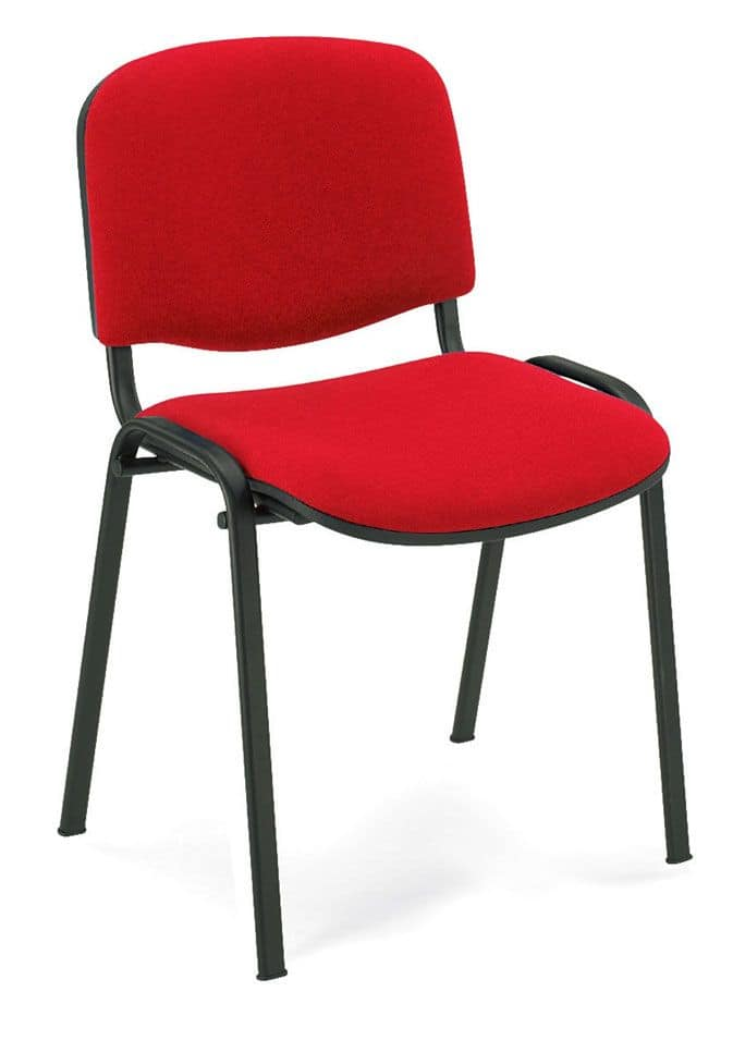UF 100, Metal chair, padded, for conference room