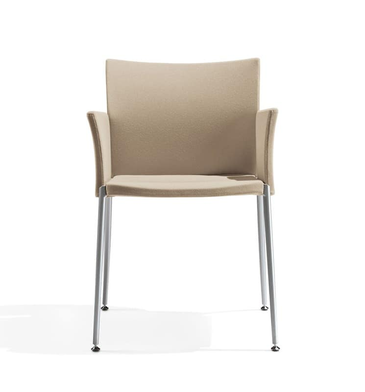Kalla, Chair with armrests, for Congress Hall