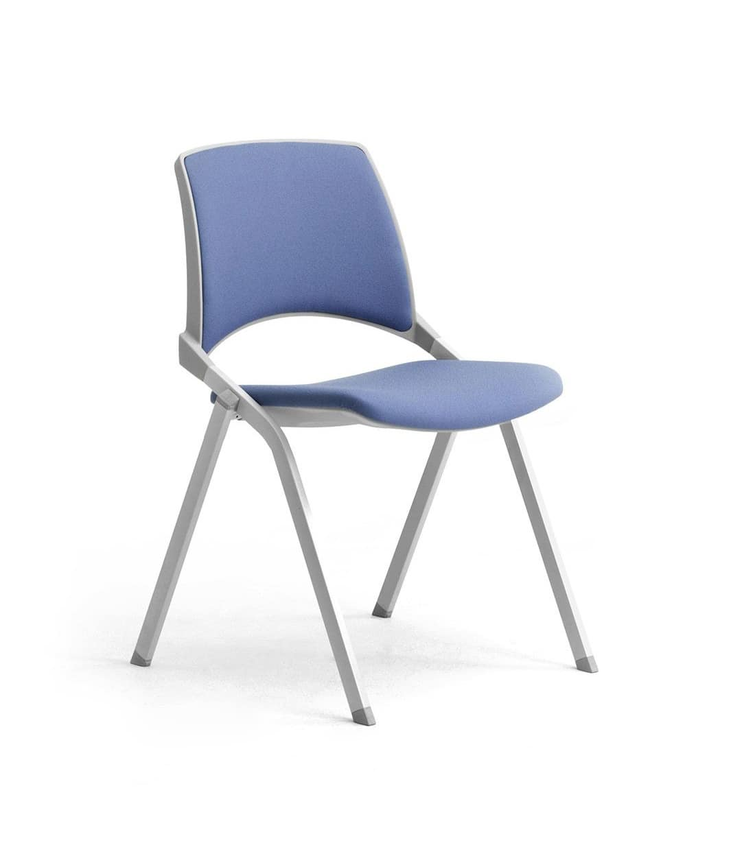Key-Ok, Chair with folding seat for conference and meeting rooms