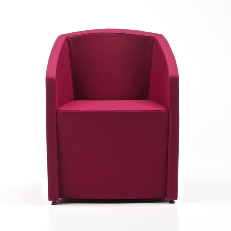 Tronix New, Tub Armchair, deformable structure, for waiting room