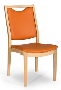 Salus, Chair with handle, easy to move