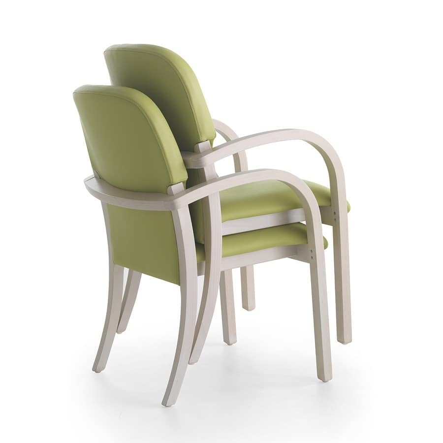 Silver Age 12, Ergonomic chair with cheerful colors and pleasant shapes