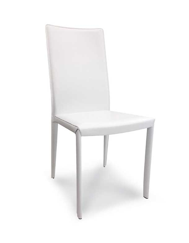 Art. 176/S, Chair upholstered in leather