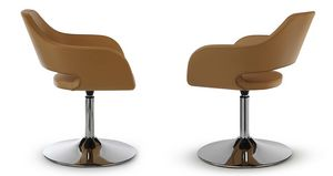 NUBIA 2201, Swivel chair on chrome base