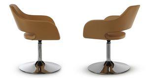 NUBIA 2201, Swivel chair on chrome base