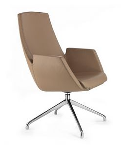 NUBIA 2916, Leather office chair