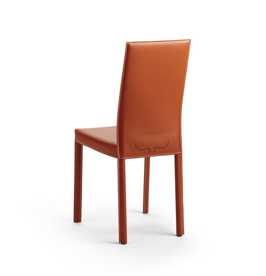 Valentina, Modern leather chair