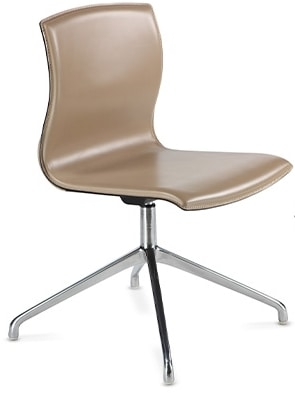 WEBTOP 398, Modern chair with chrome base