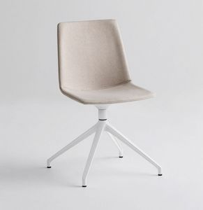 Akami U, Swivel base chair