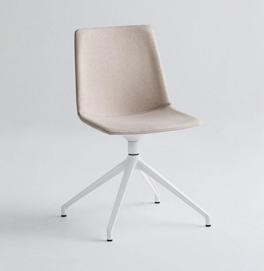 Akami U, Swivel base chair