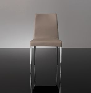 ART. 247/1 HOLLYWOOD CHAIR, Metal chair covered in imitation leather