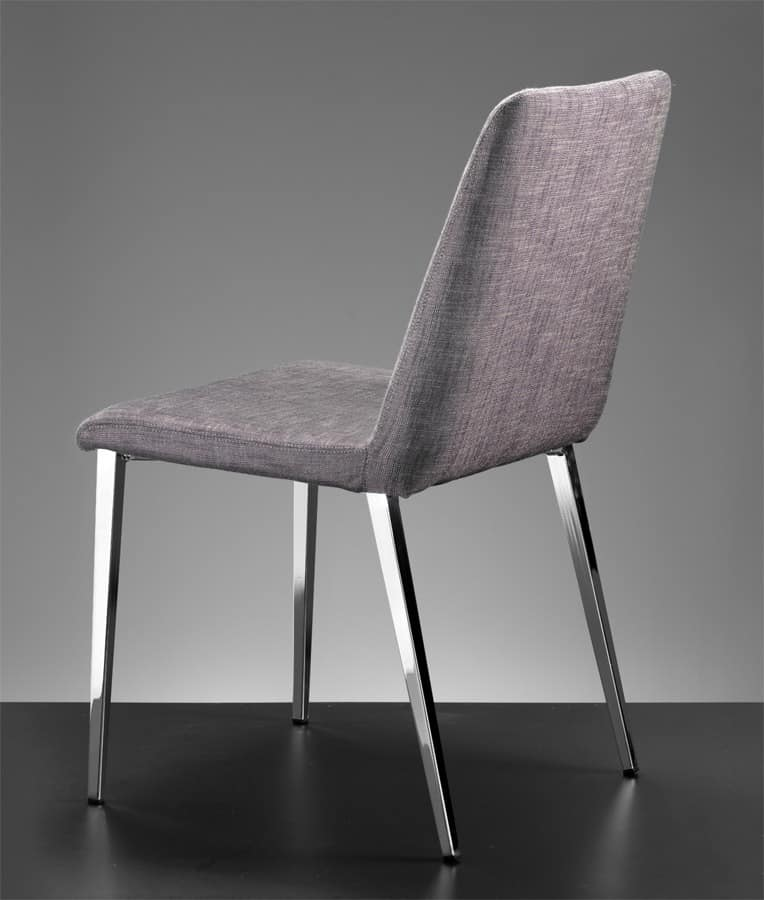 ART. 302 DESIRÉE, Modern chair for home, chair with upholstered body for pub