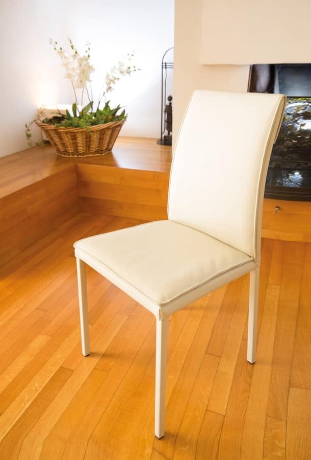 Borso high, Comfortable chair suited for modern dining rooms