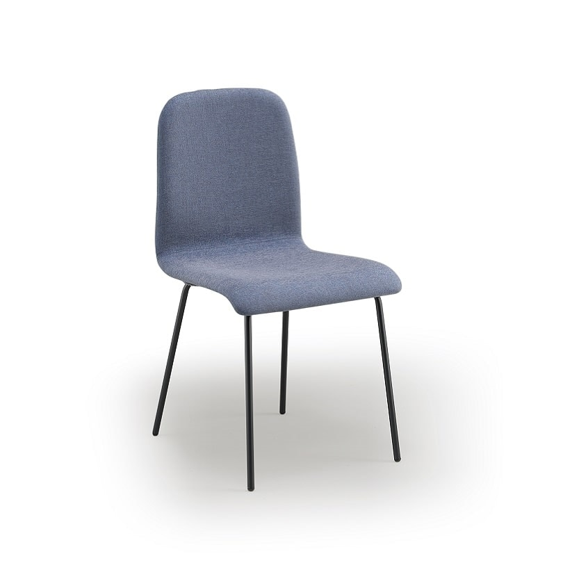 Ciao-M4, Metal chair, padded
