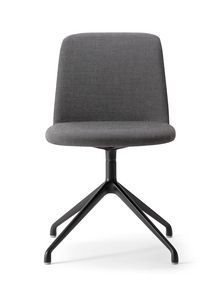 CLO� CHAIR 025 SZ, Chair with four-spokes base