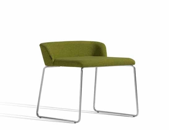 Concord 520AV, Chair with sled base and low backrest
