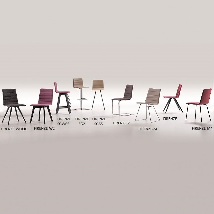 Firenze-2, Chair with cantilever base