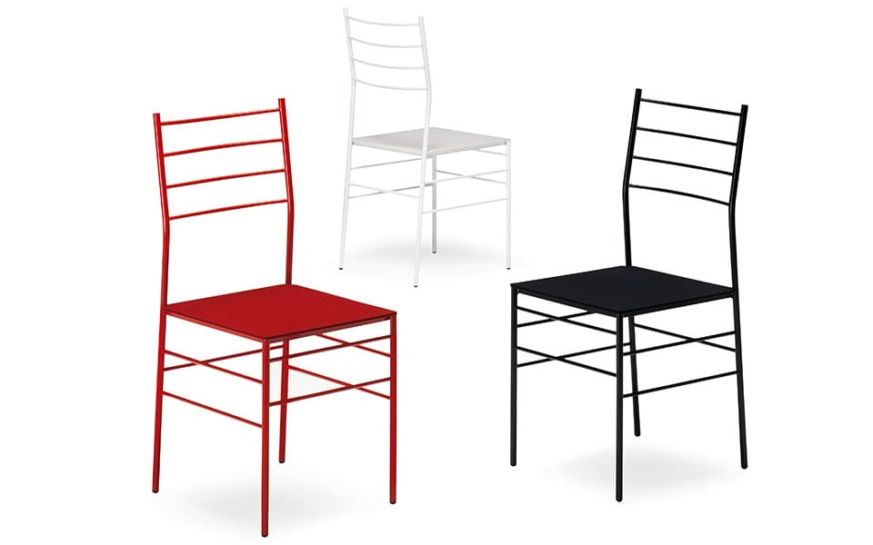 Fred, Fireproof chair with metal structure