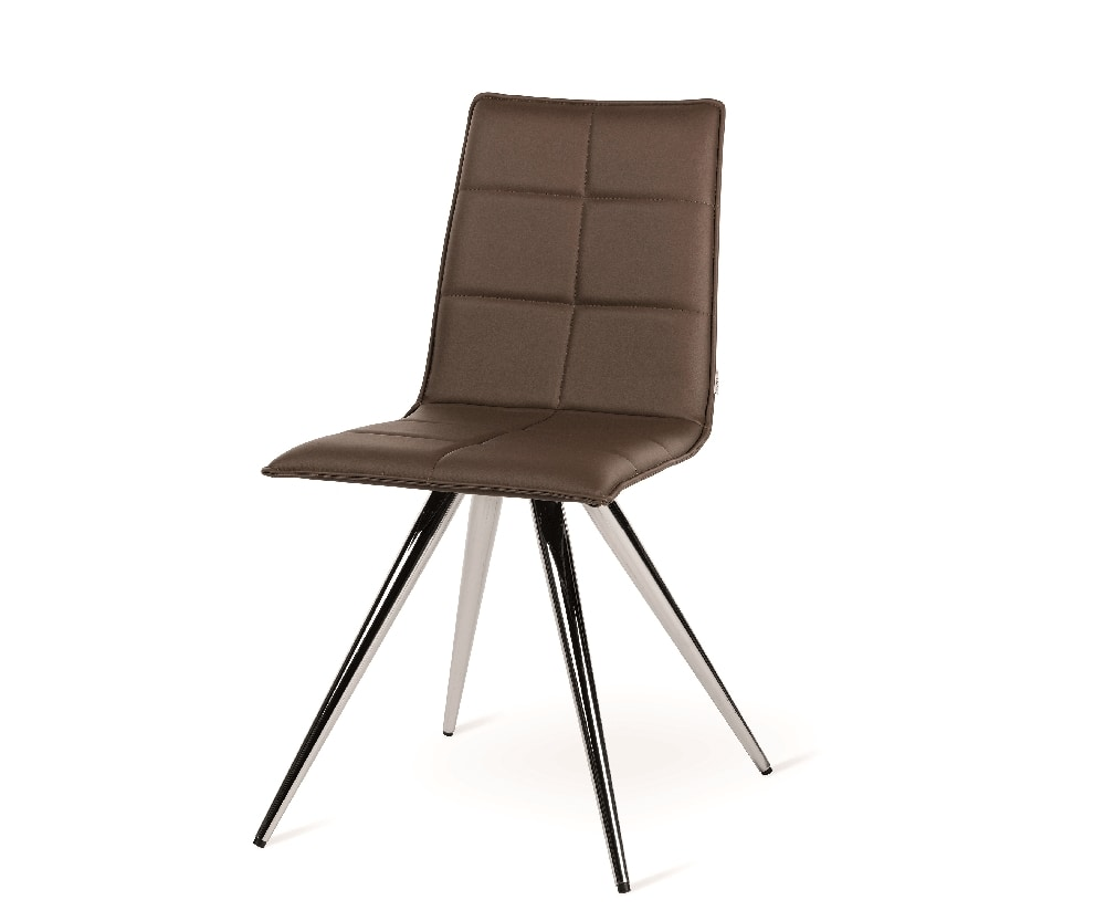Iris-M, Modern chair with metal base