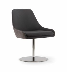 JO CHAIR 058 S F, Chair with disc base