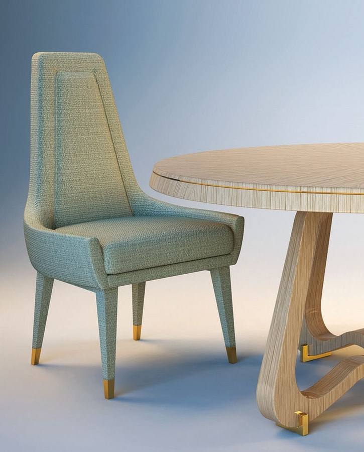 Liz, Upholstered dining chair
