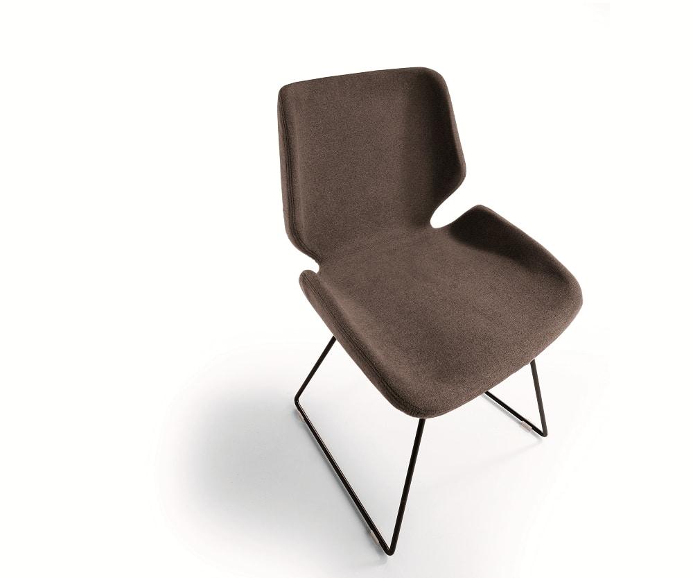 Meg, Chair with sled base