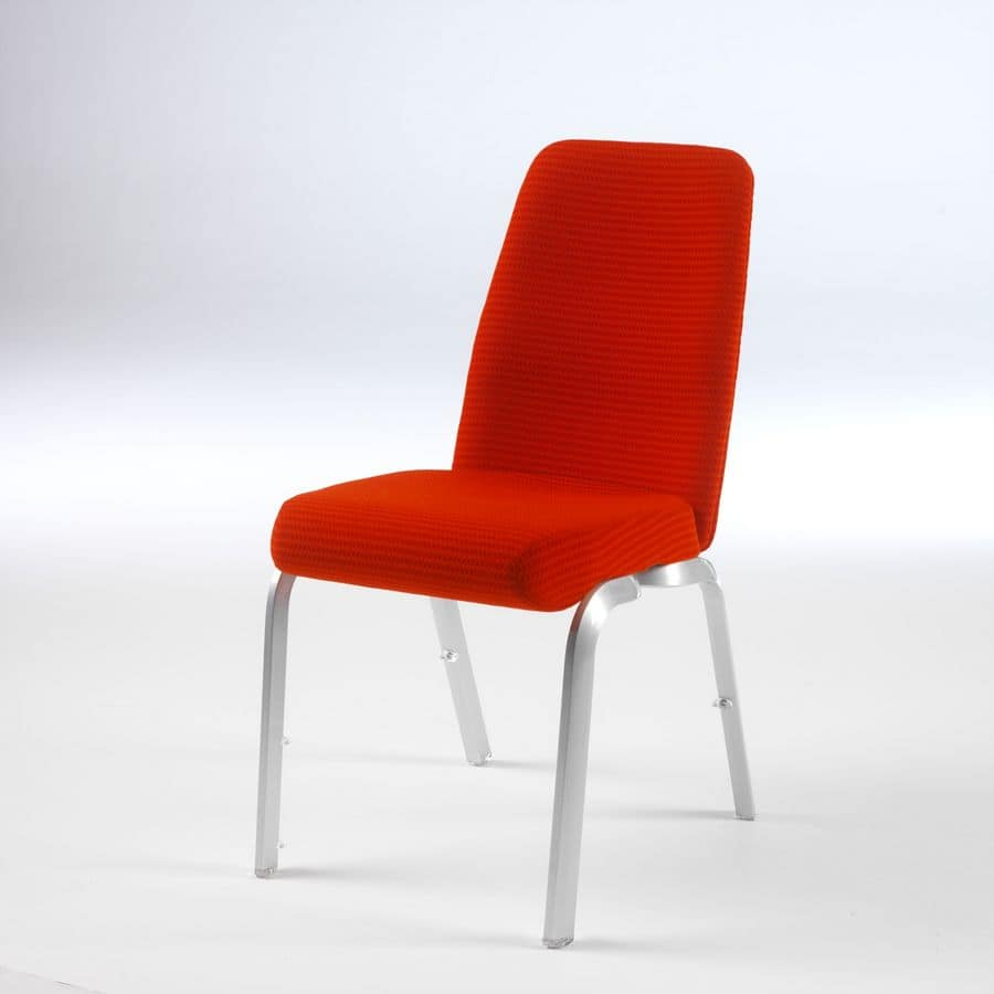 Orvia 12/1, Comfortable chair for conferences, anatomic seat and backrest