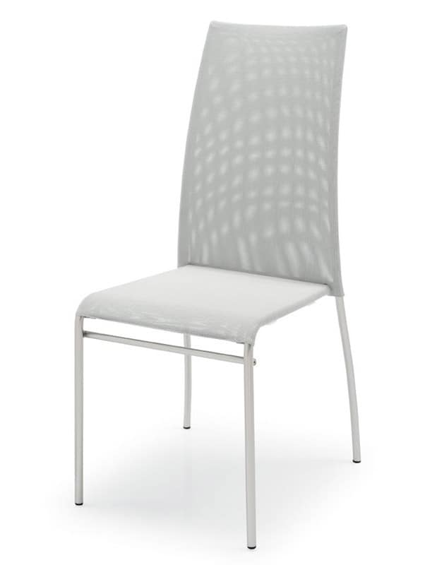 SE 362 / ALTO, Chairs in painted metal, seat and back in plastic, various colors