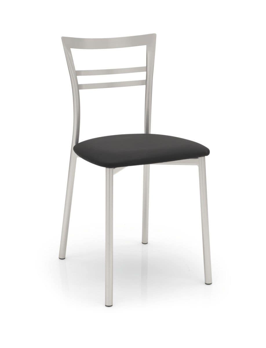 Taita, Modern metal chair, essential, for bars and restaurants