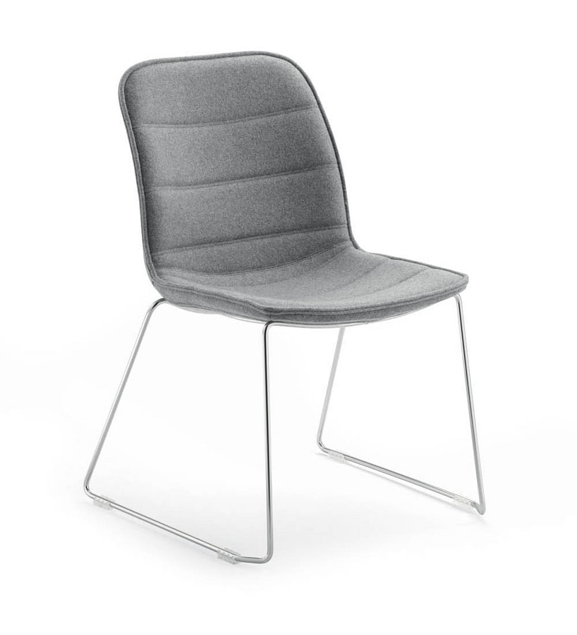 UF 593 / T, Waiting chair with sled base