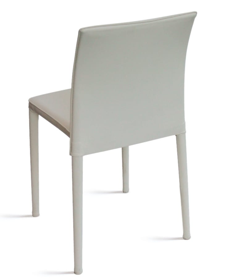 Venezia, Stackable metal chair for residential and contract use