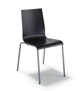 CG 77614, Metal chair, with multilayer shell