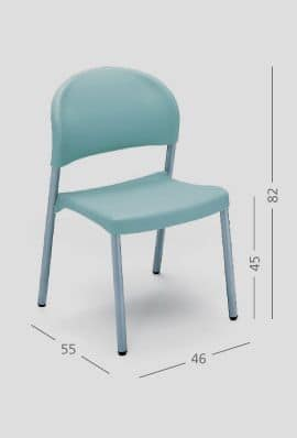 SI 31, Easy chair for restaurants and homes